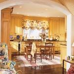 9 разноцветных кухонных интерьеров