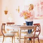 Розовый интерьера и волшебства
