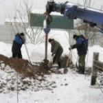 Земляні роботи в зимовий час