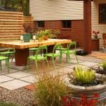 До и После: Уютный двор