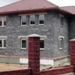 Теплый дом из керамзитобетонных блоков