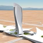 Интересные здания: Отель — кобра в ОАЭ