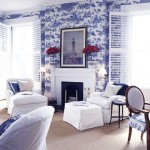 9 красивый интерьер с цветочными мотивами