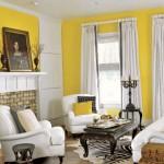 Интерьер в желто