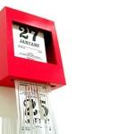 9 нестандартные календарь для дома