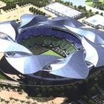 Интересных зданий в мире: Стадион — лимонника китайского в Шанхае, Китае
