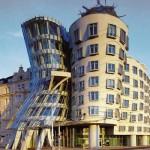 Интересные здания: Танцующий дом в Праге, Чехия