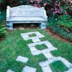 8 нестандартных садовых дорожек