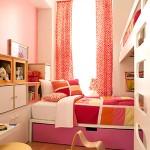 Очаровательный двухместный детская комната