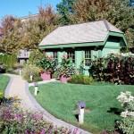 8 большие садовые домики