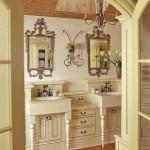 Двойная раковина в ванной — удобство и функциональность