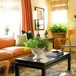 12 уютных интерьеров в оранжевый