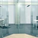 Скляні міжкімнатні двері для кухні