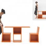 5 компактные мебель для дома