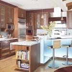 Эко кухни с отделкой дизайн