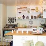 Цитрусовый кухонный интерьер