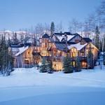 Удивительные горные отель с постоянными жильцами