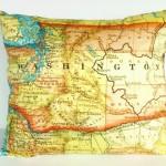 9 идей для украшения с географических карт