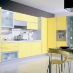 Удивительные кухни в желтом
